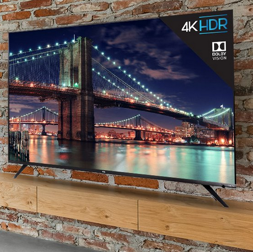 6 Incredible 55 Inch Smart TVs of 2019 - TCL 55R617 55- Inch 4K Ultra HD Roku Smart LED TV
