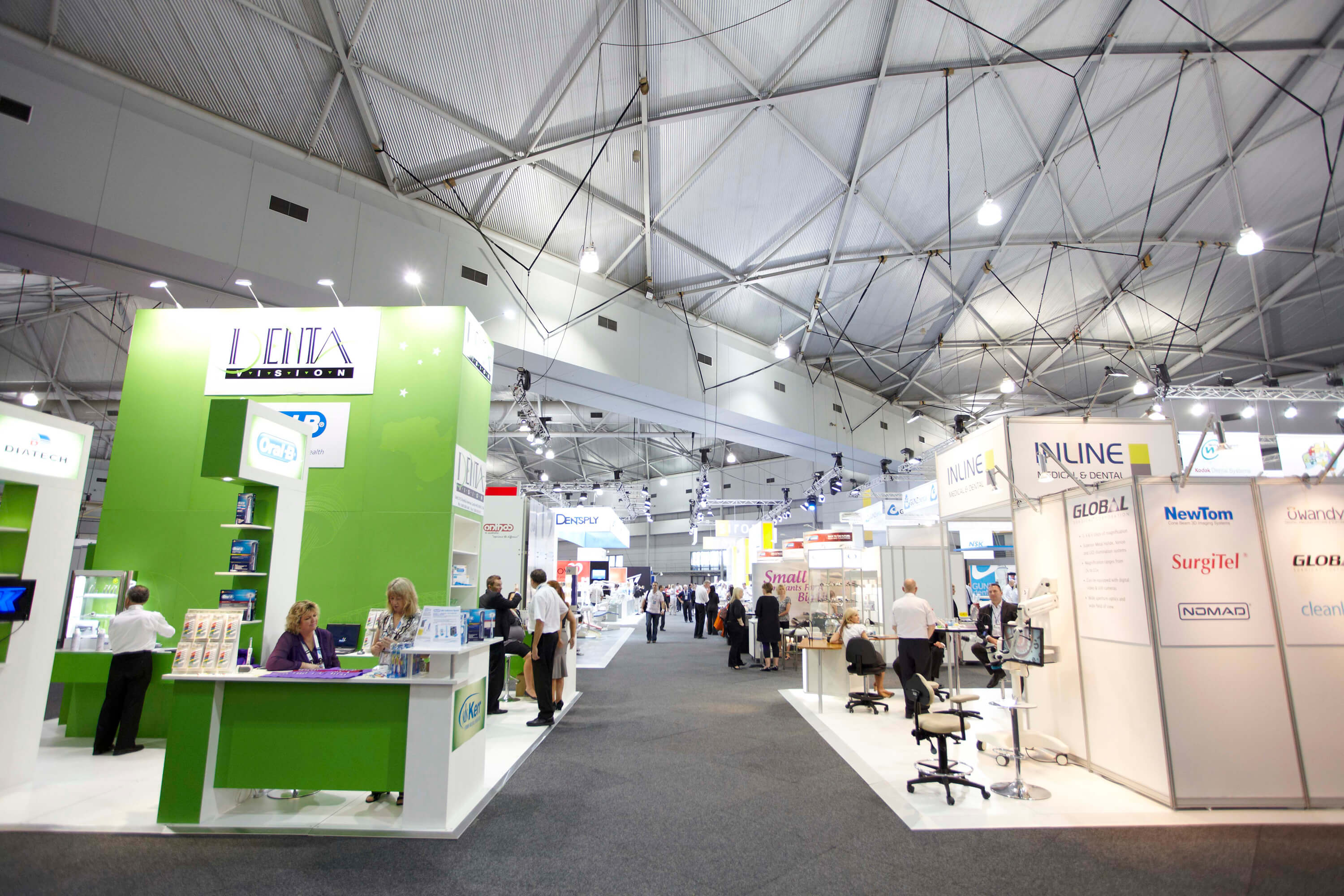 What Makes Smart City Networks Tick? - exhibition hall
