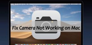 How to Fix MacBook Camera not Working Problem