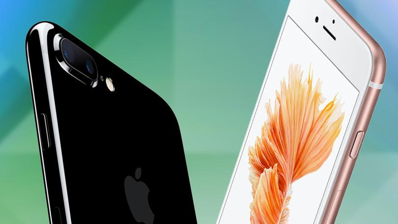 iPhone 6S Vs. iPhone 7:   Processor and Internal Storage