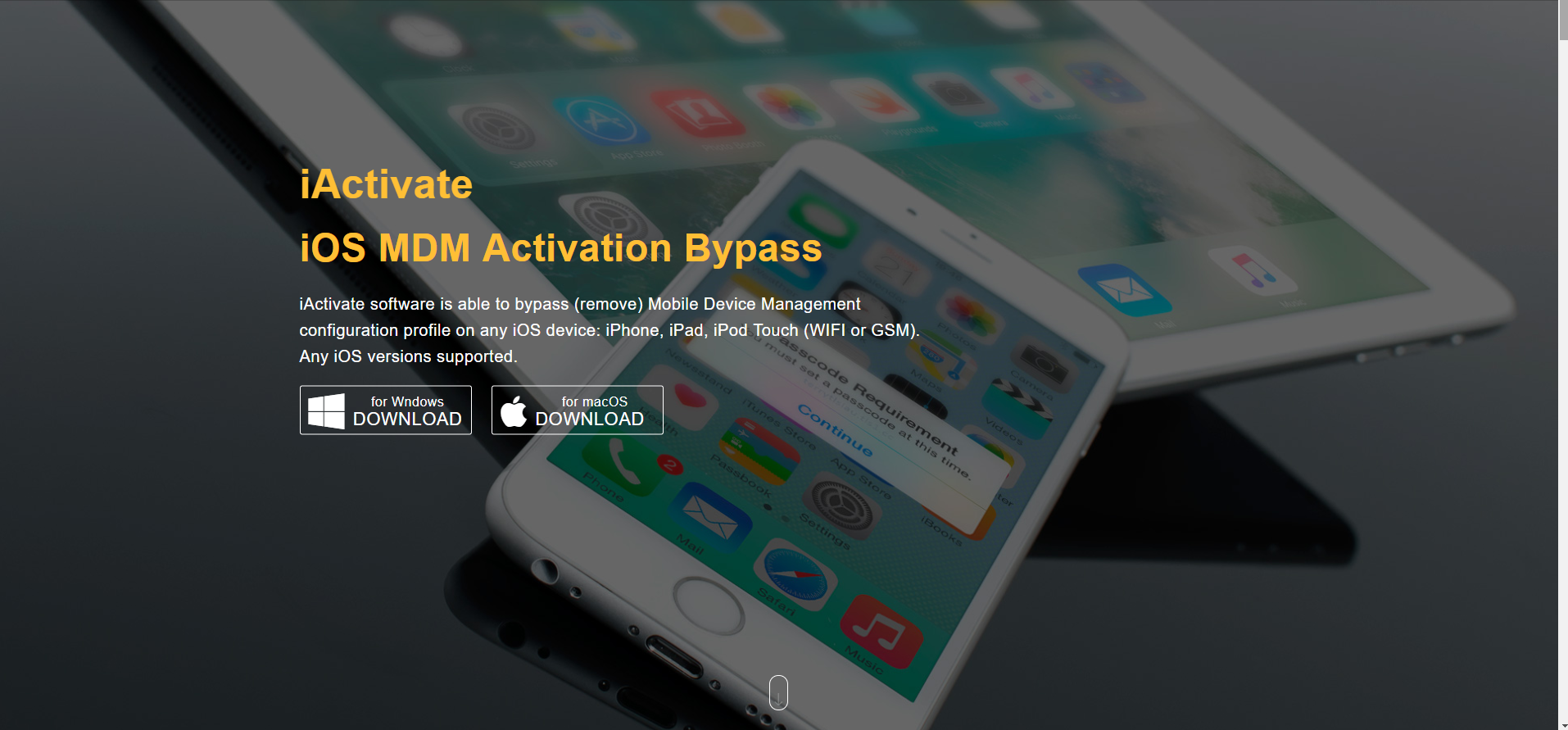 How to Use iActivate - Removing MDM from an iPad