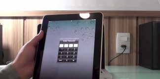 Unlocking an iPad Passcode without a Computer