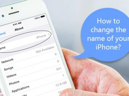 How to Change the Name of Your iPhone
