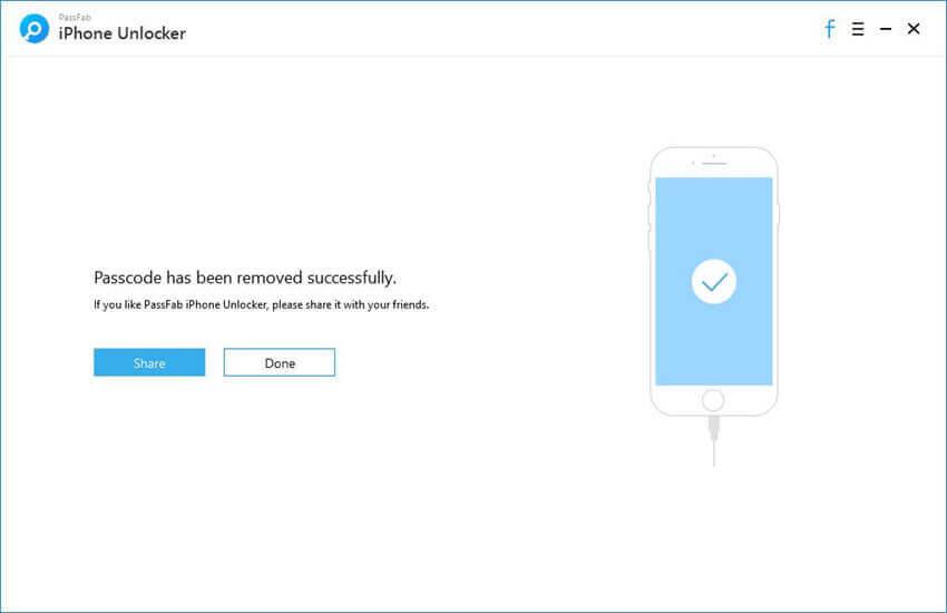 Remove Lock Screen Passcode Successfully