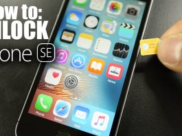 How to unlock iPhone SE