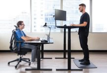 UPLIFT Reclaimed Wood Desk vs. Autonomous Smart Desk 3