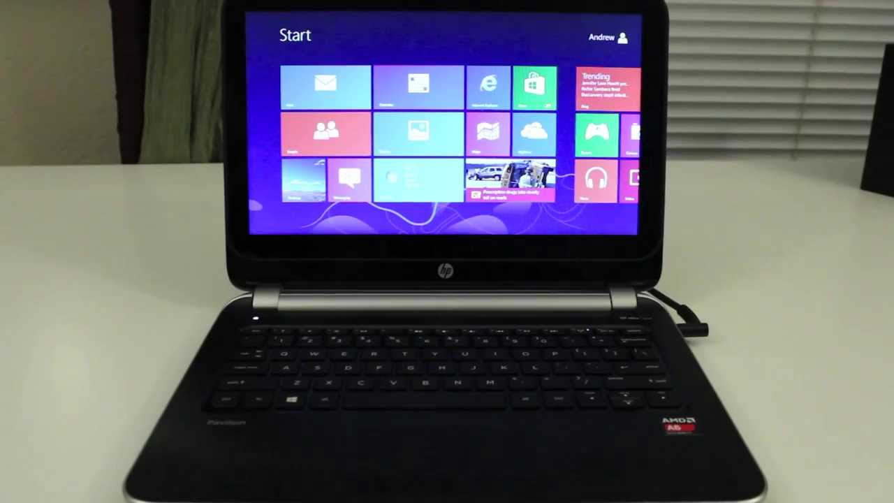 HP Pavilion TouchSmart 11z Laptop Review - HP touch smart laptop