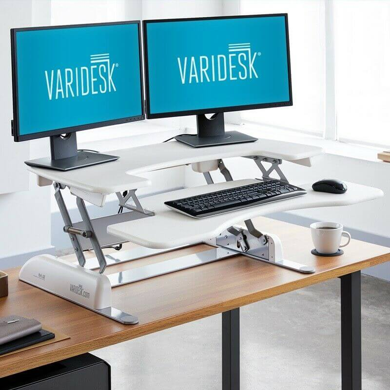 Standing Desk Review - Varidesk Pro Plus 48 vs. Autonomous SmartDesk 3 - Varidesk Pro Plus 48