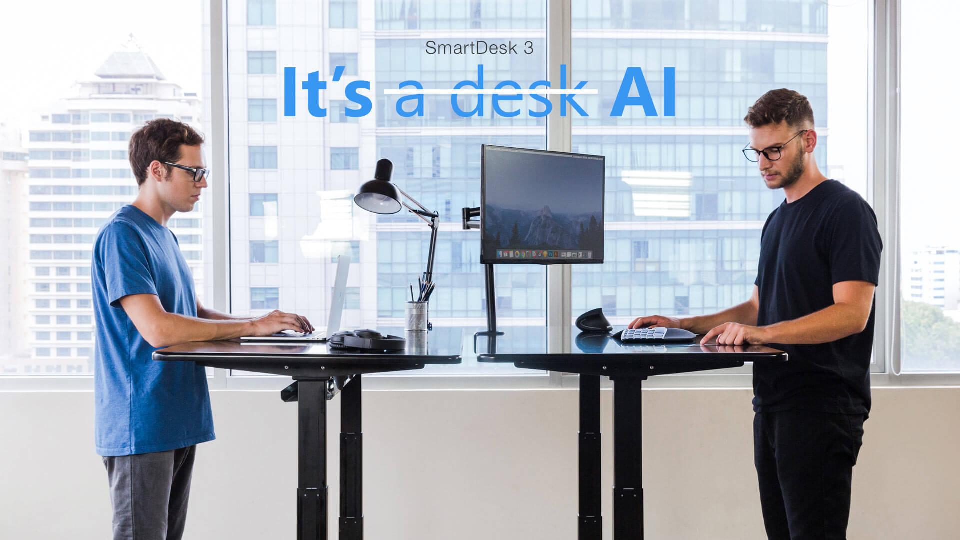 Standing Desk Review - Varidesk Pro Plus 48 vs. Autonomous SmartDesk 3 - Autonomous SmartDesk 3