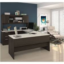 "4 Best U-Shaped Office Desks with Hutch Money Can Buy-65"" Wide Ridgeley U-Desk With Hutch"