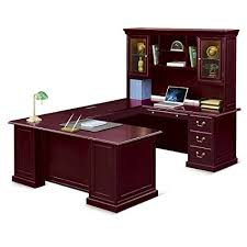 4 Best U-Shaped Office Desks with Hutch Money Can Buy-U-Desk with Right Bridge and Hutch