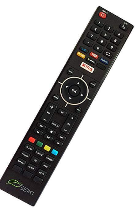 seiki 32 inch smart tv Qwerty Remote