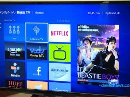 insignia 32 inch smart tv Display