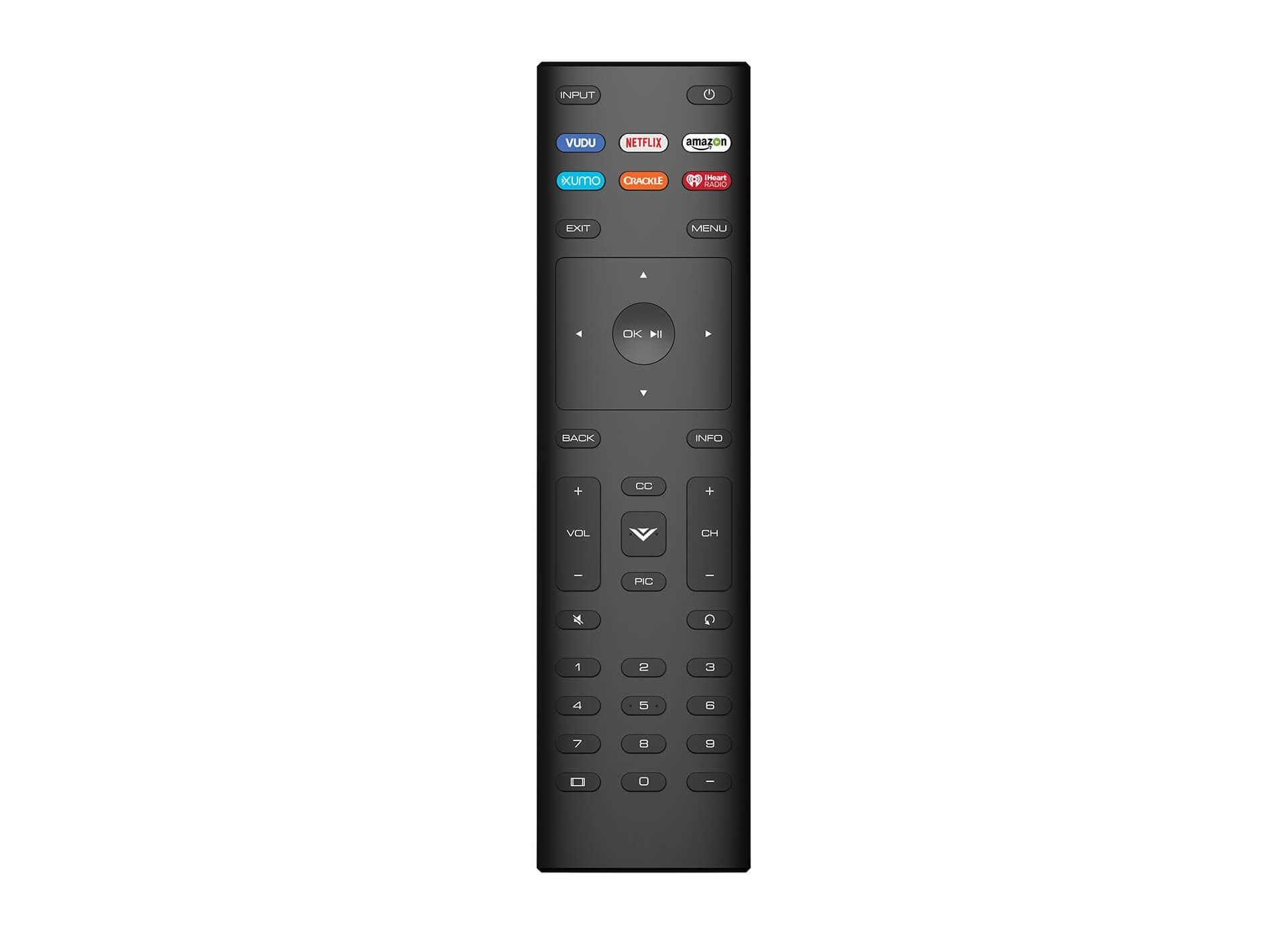 vizio 32 inch Remote