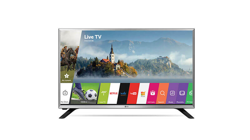 LG 32LJ550B 32-Inch 720p Smart LED TV (2017 Model)