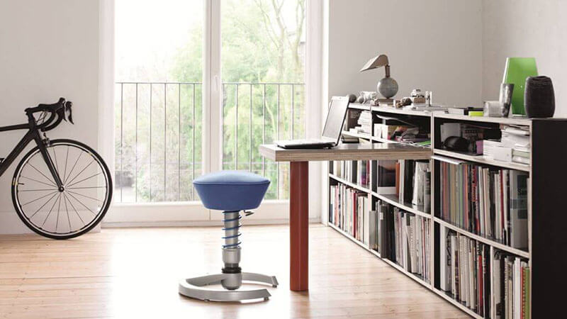 Swopper Height Adjustable Stool