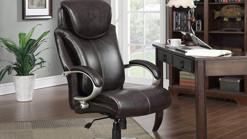 Wellness Leather Executive Office Chair