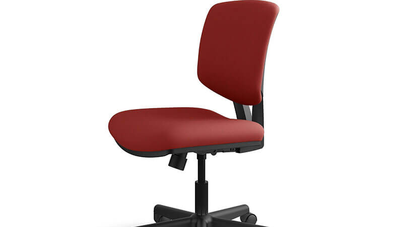 HON Volt Red Task Chair for the office