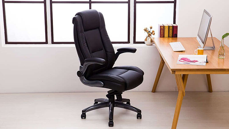 KADIRYA High Back Bonded Leather