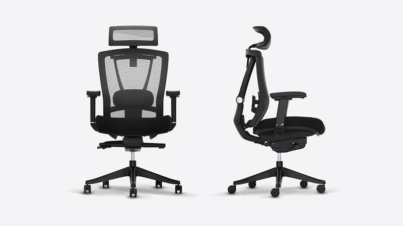 Modway Articulate Ergonomic Black Office Chair