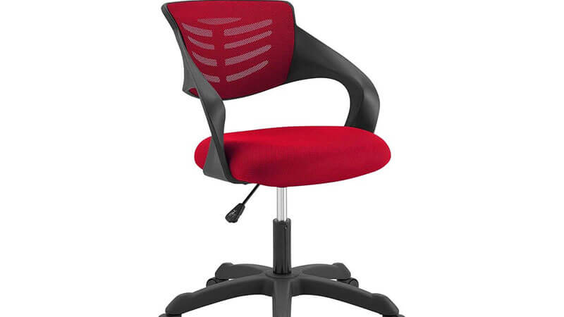 Modway Articulate Mesh Red Office Chair