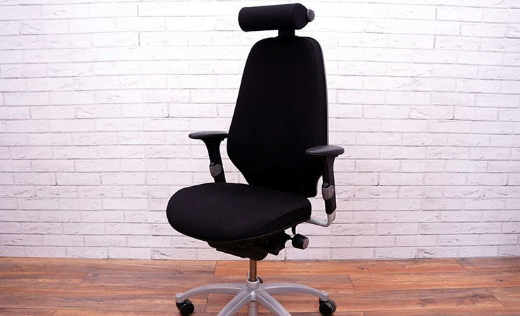 black office chair introduction