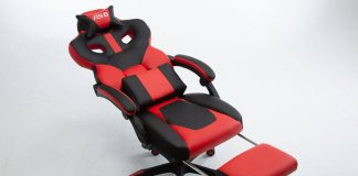 red office chair imtroduction
