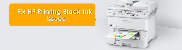 Fix HP Printing Black Ink Issues
