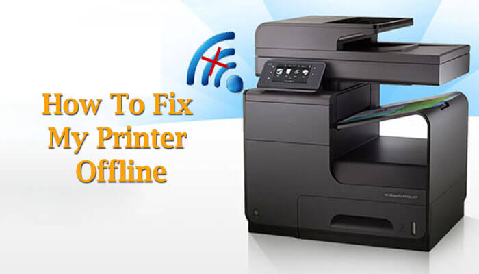 how to fix my printer offline
