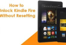How To Unlock Kindle Fire Without Resetting