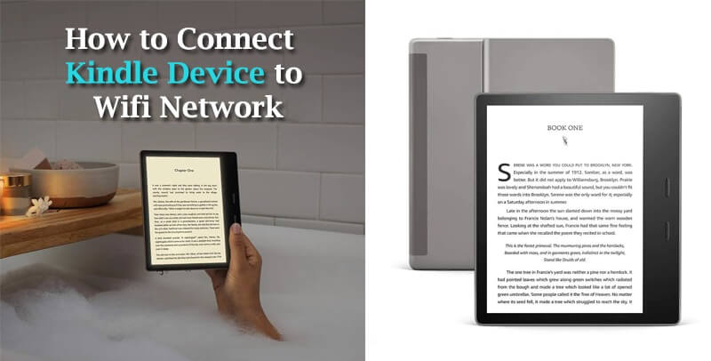 How to Connect Kindle Device to Wifi Network