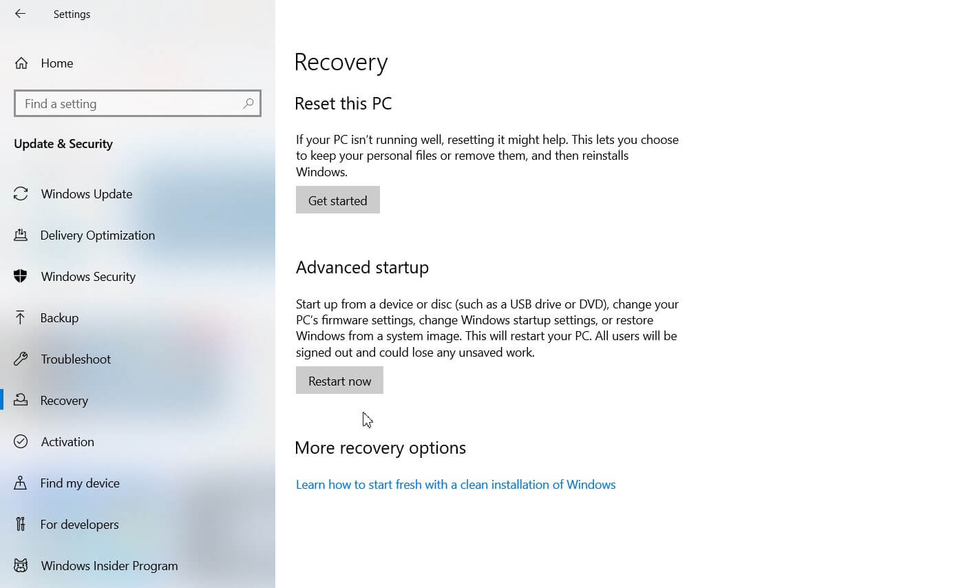 Clean Installation of Windows 10 and Product Key - Image 3
