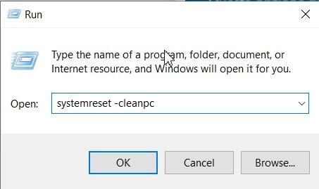 2) In Windows 10, use Fresh Start or Fresh Installation