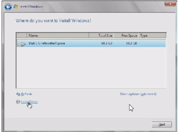 Format the PC and proceed with the installation of Window