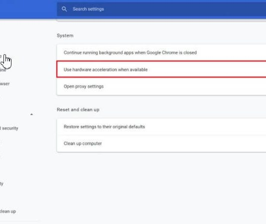 Hardware Acceleration in Chrome: How to Enable or Disable It