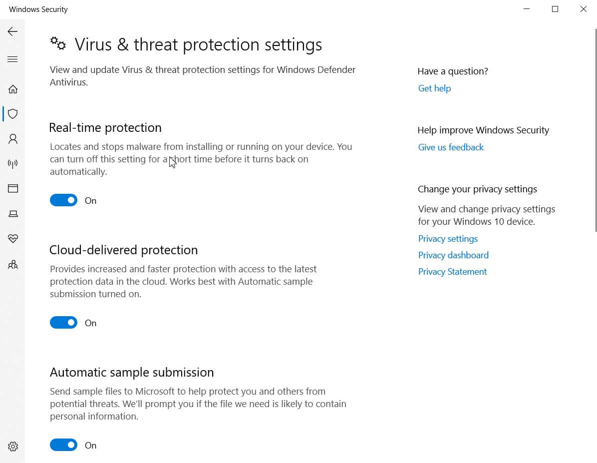 How To Disable Windows Defender Completely?