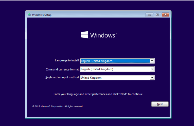 Try to revive Windows and fix when the operating system no longer boots