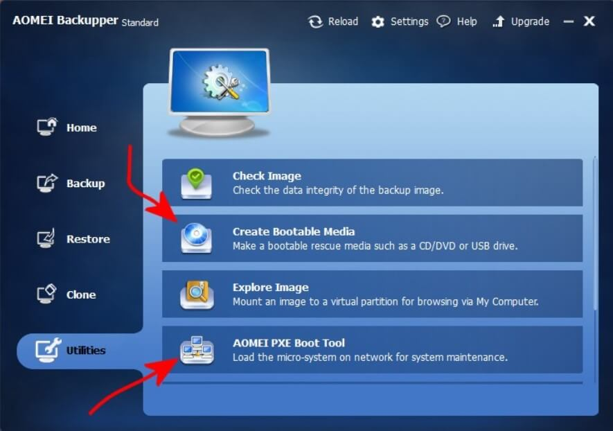 Create a system image before installing Windows 8.1 or Windows 10 in place of XP or Vista.