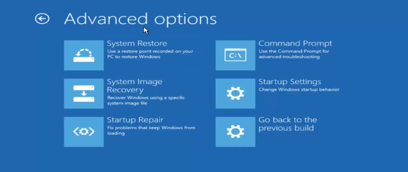 Windows 10 Basics: OS Doesn't Start And Automatic Repair Doesn't Work!