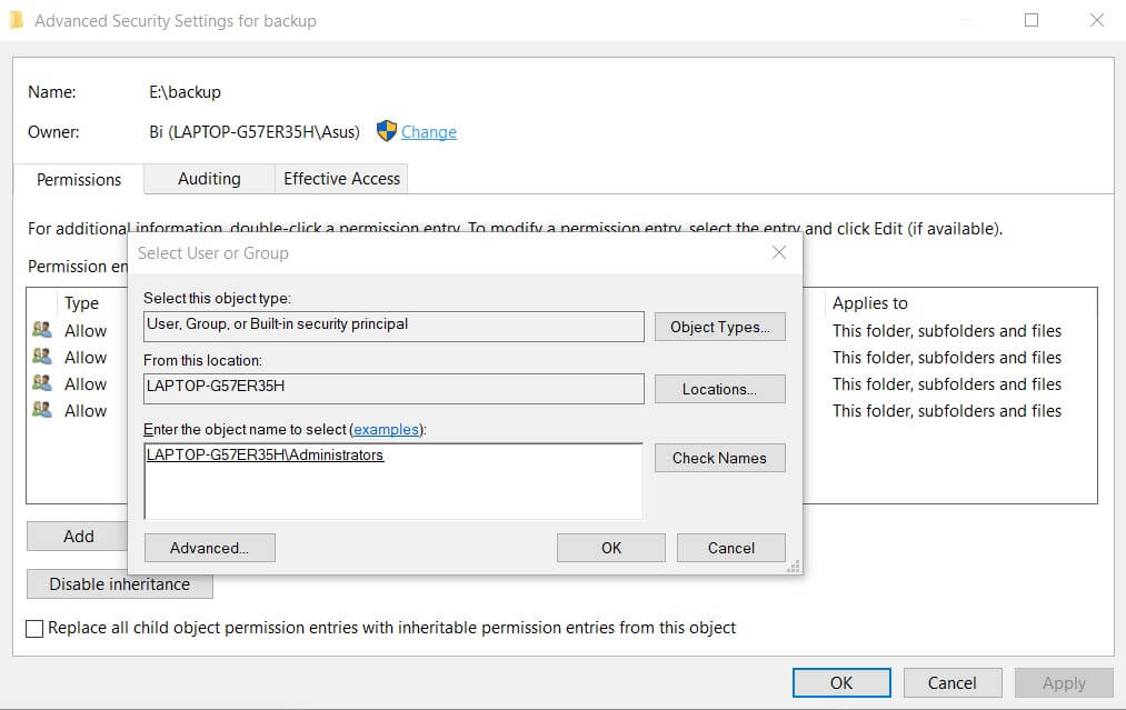 You Do Not Have the Necessary Permissions to Access the Folder: How To Fix - Image 3
