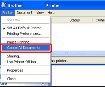 Delete Print Queue and Unlock Printer - Image 2