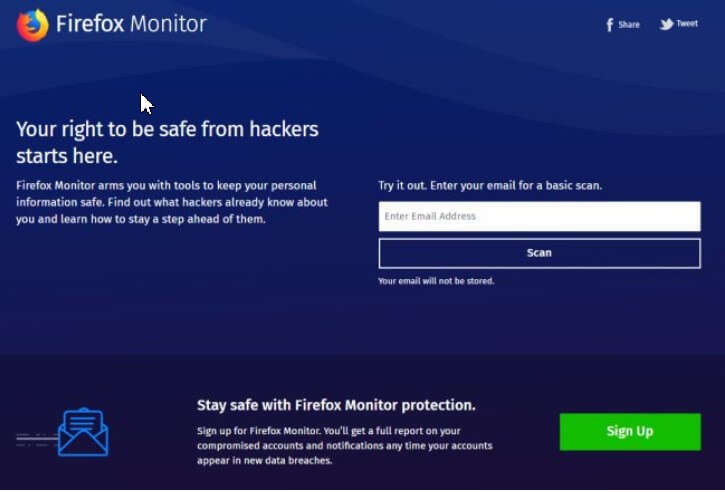Firefox Monitor, What it is, How it Works and How it Helps You Learn More about Data Theft