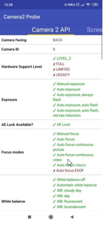 Camera2 and Google Camera API compatibility