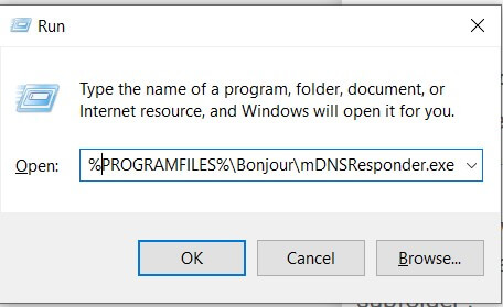 How to Remove the Bonjour Service