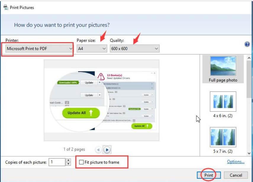 How to Transform JPG to PDF using Windows 10? - Image 2