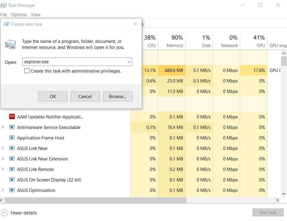 Windows 10: Black Screen Problem on Startup or After Login - Image 1