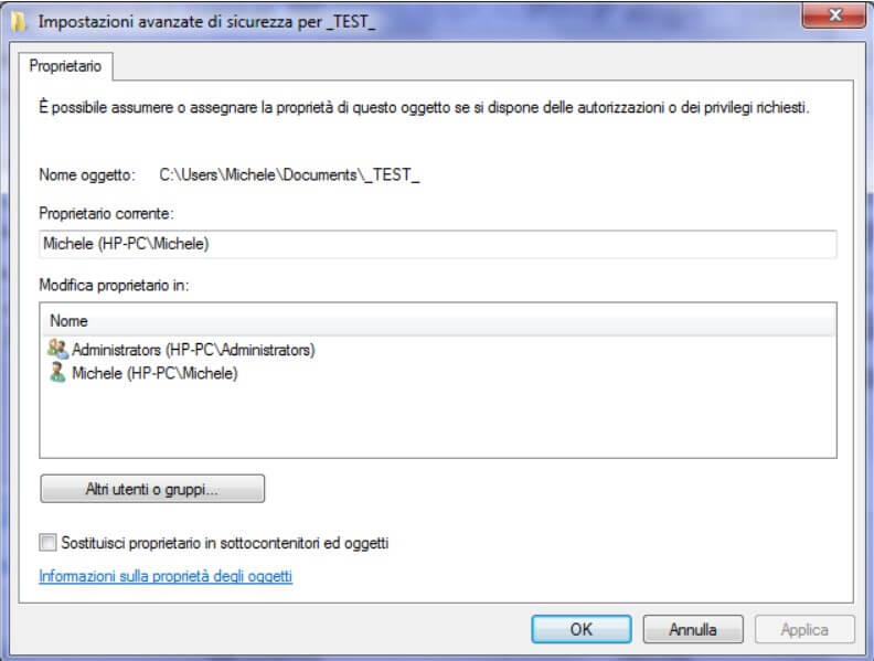 Access denied to files and folders: how to fix - Image 3