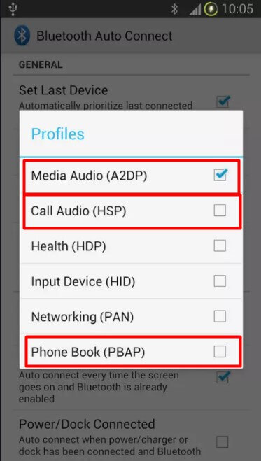 Use the free app Bluetooth Auto Connect.