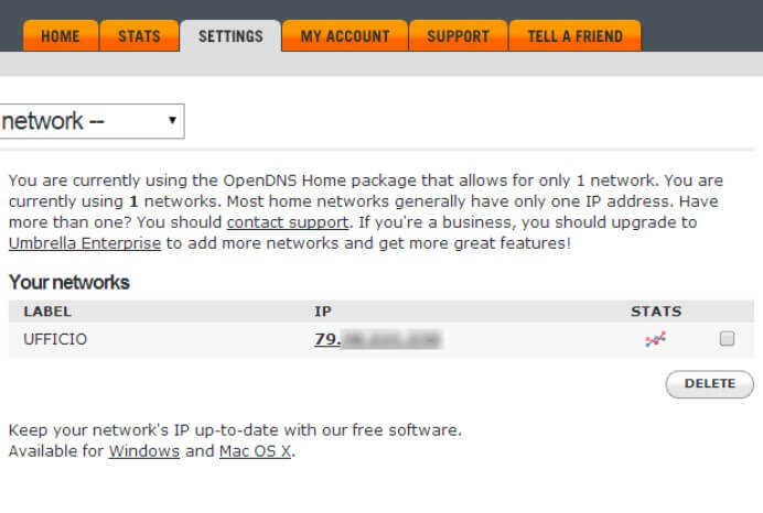 Check the sites visited by router, local network and WiFi with OpenDNS - Image 1