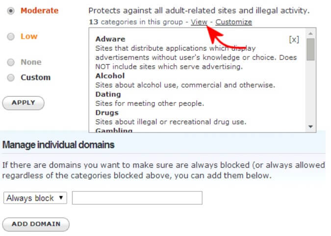 Check the sites visited by router, local network and WiFi with OpenDNS - Image 3